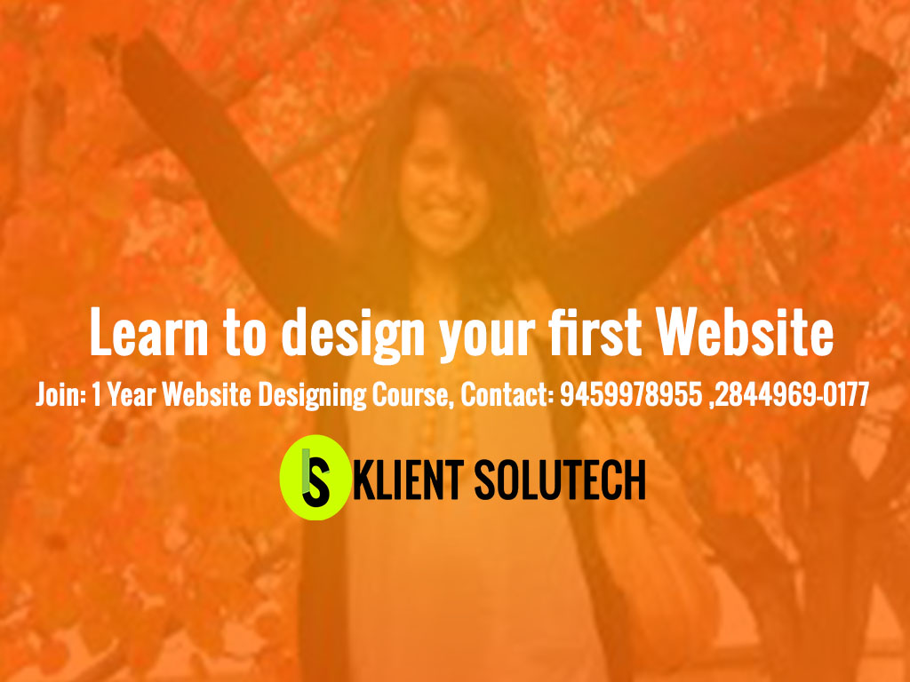 Teaching the art to build websites