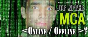 MCA JOBS Matrix Image
