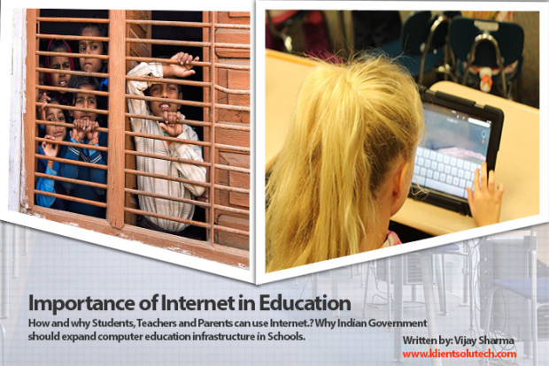 importance of internet in education at school