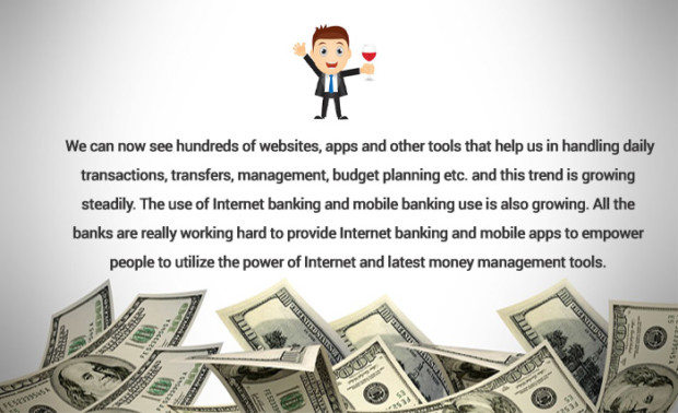 Internet use as a money management tool