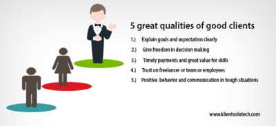 great qualities of good clients