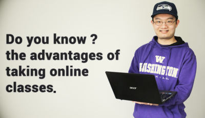 advantages of online classes