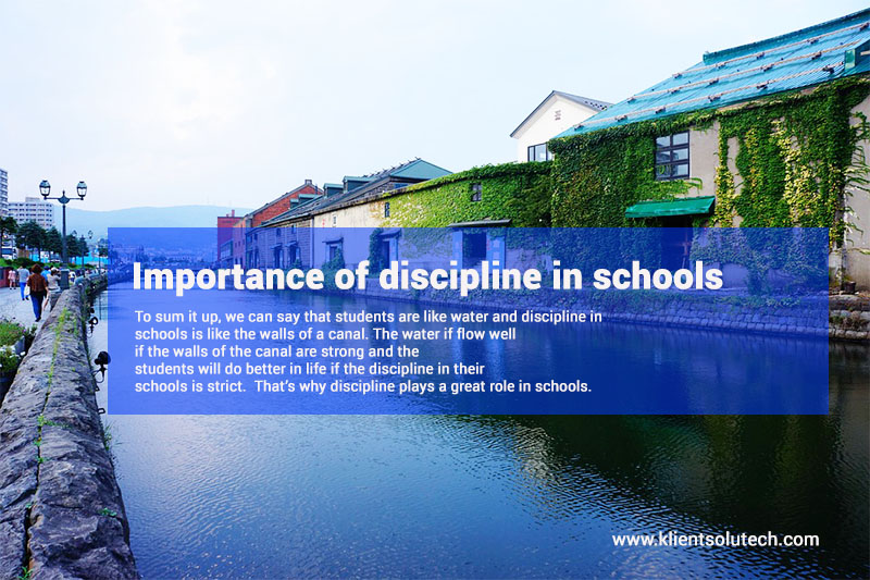 Essay on Importance & Value of Discipline- Short Speech, Paragraph, Article for School, College