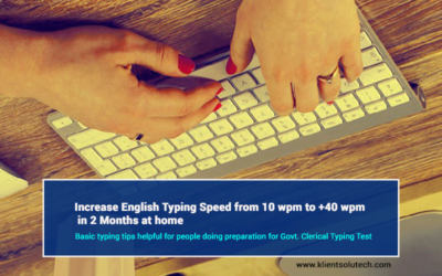English typing speed practice tips