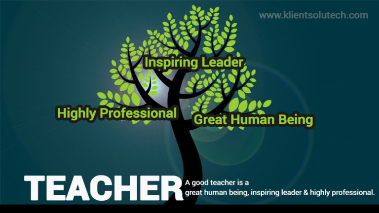 Qualites of a Good Teacher