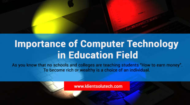 role of computer in education essay
