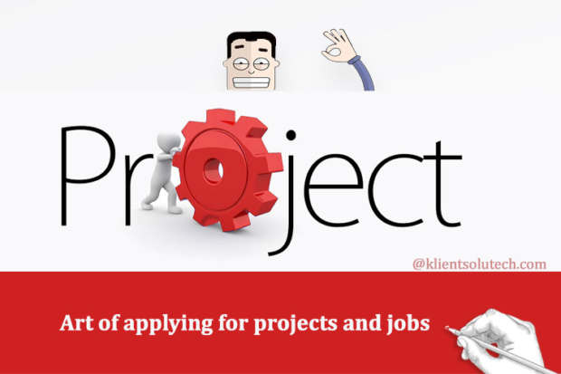 How to apply for projects on freelancing websites