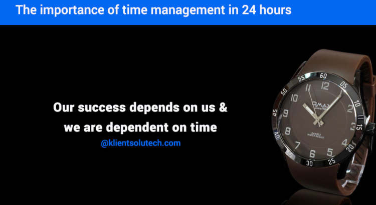 importance of time management in business