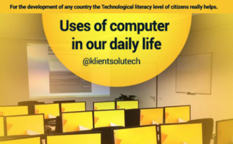 Uses of computer in our daily life