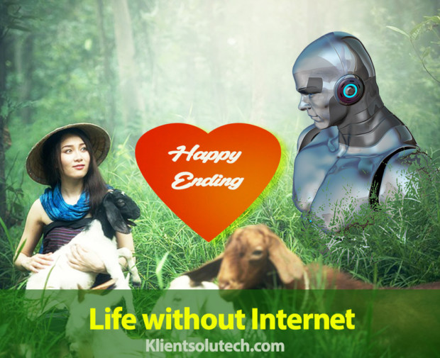 life without internet happy ending