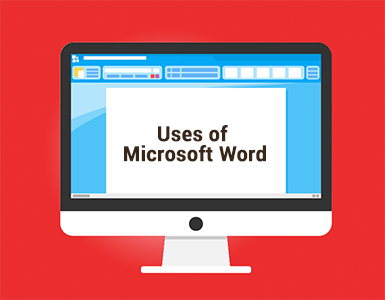 the uses of microsoft word Answer: microsoft word provides a ruler option, which displays a ruler around the edge of the document this ruler, which typically uses inches or centimeters as the measurement unit, shows how large the document will be when printed.