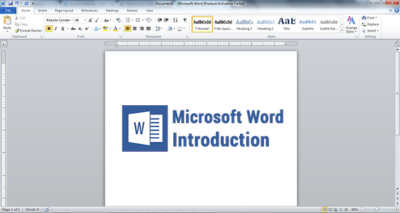 Microsoft word introduction