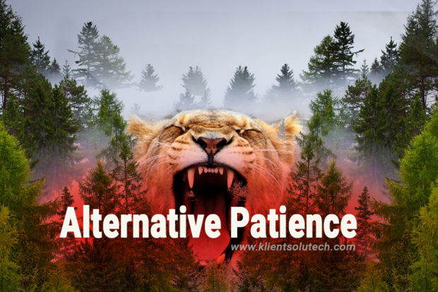alternative patience due to technology