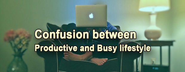 technology created confusion between buy and productive lifestyle