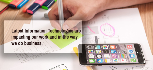 technology has changed the way we do business