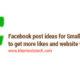 Ultimate Facebook post ideas