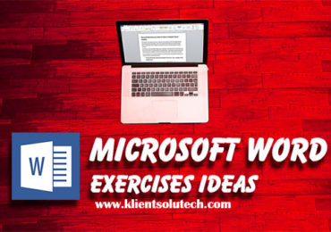 Microsoft Word Exercises ideas
