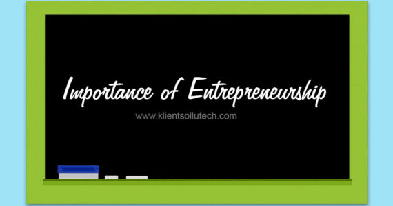 entrepreneurship is the key for national - learn the lesson