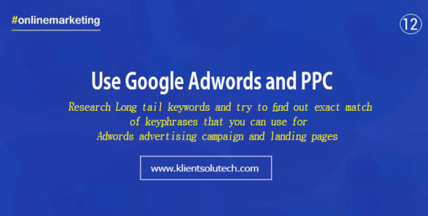 use google adwords and ppc