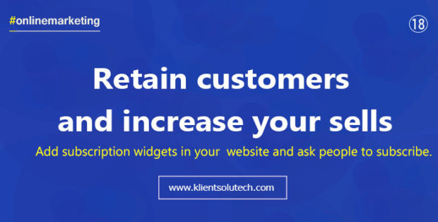 use customer retention strategises