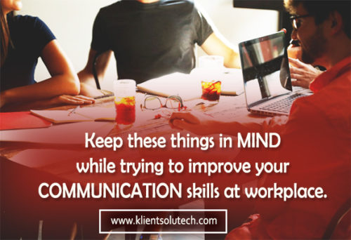 improve communication skills at work