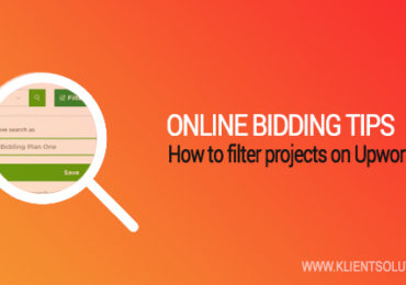 How to filter projects on Upwork