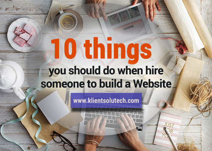 awsome tips to hire somone to build your website