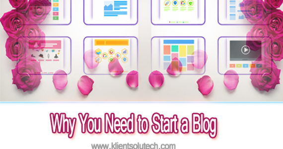 top reasons behind starting a blog