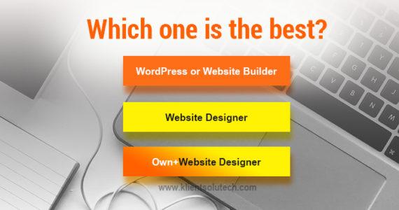 best ways to create a website