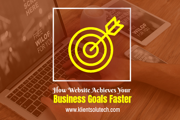 website achieve business goals faster