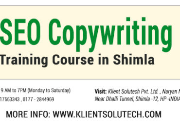 seo course in shimla at klient solutech