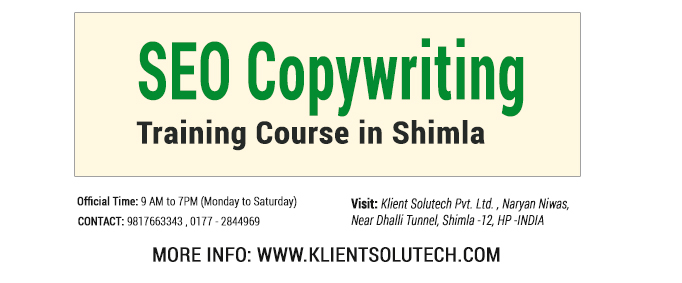 courses in seo writing websites