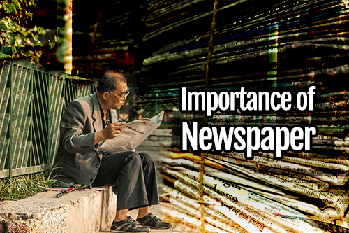 importance of newspaper reading and uses in daily life