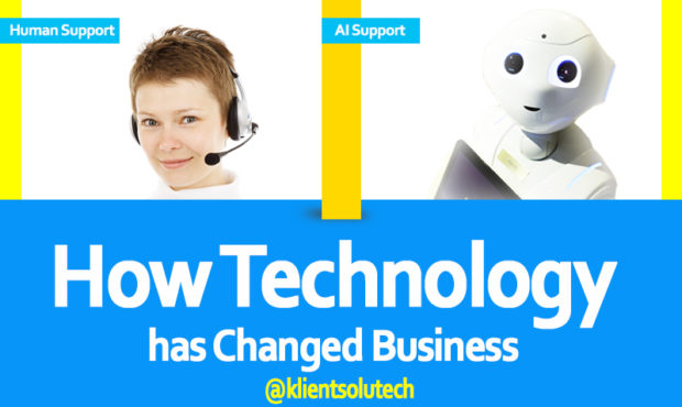 How Technology has changed business