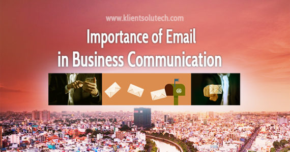 importance of email in business communication