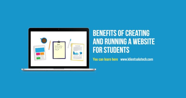 Benefits of creating your own website, if you're a student