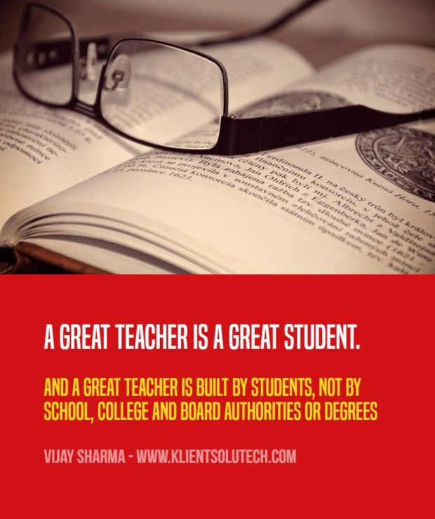 quote to motivate teachers and students