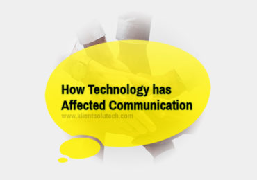 How technology has affected communication
