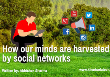 our minds are harvested by social networks