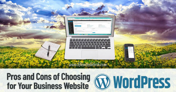 The Pros and Cons of Choosing WordPress for Your Business Website