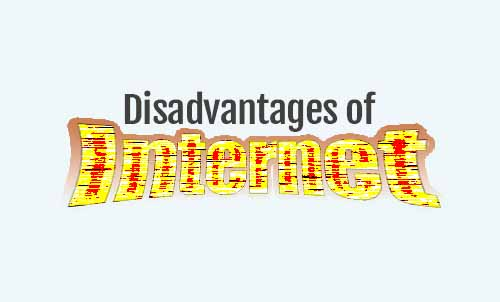 disadvantages of internet essay