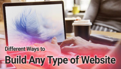 ways to build any type of website