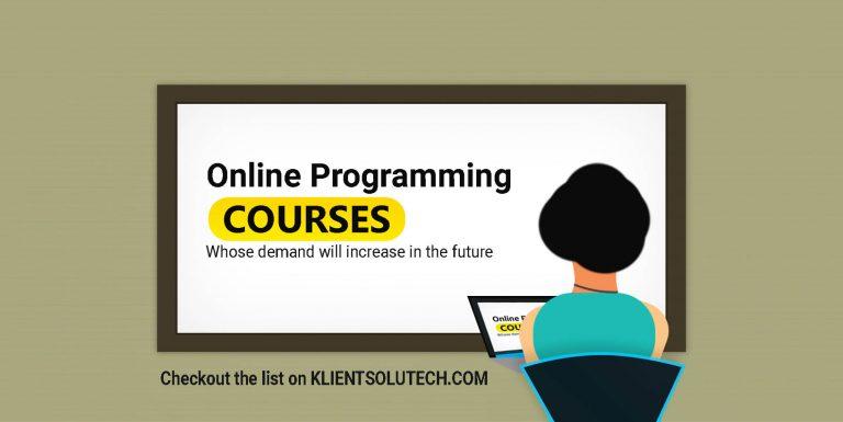 Best Online Programming Language Courses for future Demands