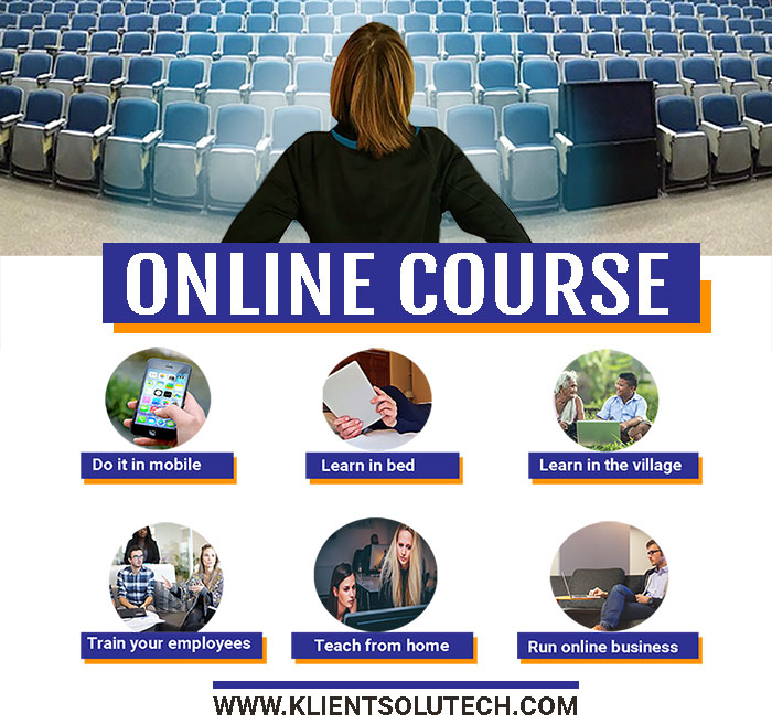 what is online course - KLIENT SOLUTECH