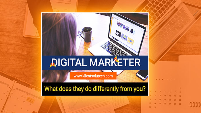 What does a digital marketer do every day?