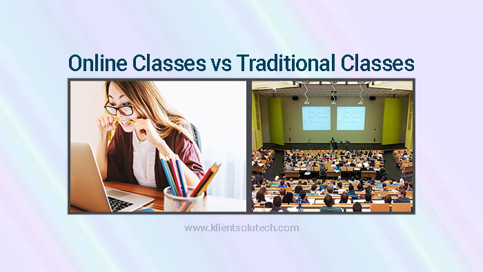 online classes versus traditional classes