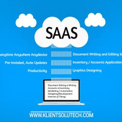 SAAS - SOFTWARE AS SERVICE EXPLAINED IN DIAGRAM