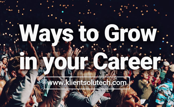ways to grow in your career