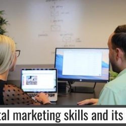 Digital marketing skills and its uses